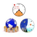 FX市場の値動きの流れは?日本の時間軸を把握してトレード!